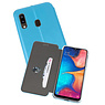 Slim Folio Case Samsung Galaxy A20 Blauw