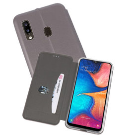 Slim Folio Case Samsung Galaxy A20 Grijs