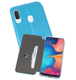 Slim Folio Case Samsung Galaxy A20e Blauw