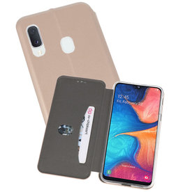 Slim Folio Case Samsung Galaxy A20e Goud