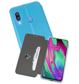 Slim Folio Case Samsung Galaxy A40 Blauw