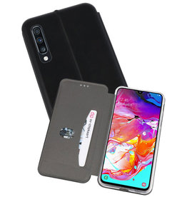 Slim Folio Case Samsung Galaxy A70 Zwart
