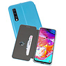 Slim Folio Case Samsung Galaxy A70 Blauw
