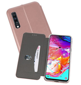 Slim Folio Case Samsung Galaxy A70 Roze