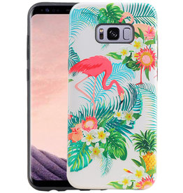 Flamingo Design Hardcase Backcover Samsung Galaxy S8 Plus