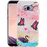 Vlinder Design Hardcase Backcover Samsung Galaxy S8 Plus
