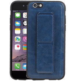 Grip Stand Hardcase Backcover iPhone 6 Blauw