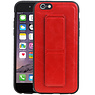 Grip Stand Hardcase Backcover iPhone 6 Rood