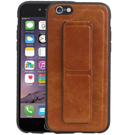 Grip Stand Hardcase Backcover iPhone 6 Bruin