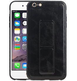 Grip Stand Hardcase Backcover iPhone 6 Plus Zwart