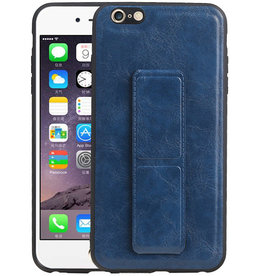 Grip Stand Hardcase Backcover iPhone 6 Plus Blauw