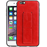 Grip Stand Hardcase Backcover iPhone 6 Plus Rood
