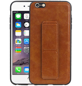 Grip Stand Hardcase Backcover iPhone 6 Plus Bruin