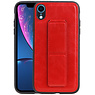 Grip Stand Hardcase Backcover iPhone XR Rood