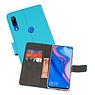 Wallet Cases Hoesje Huawei P Smart Z Blauw