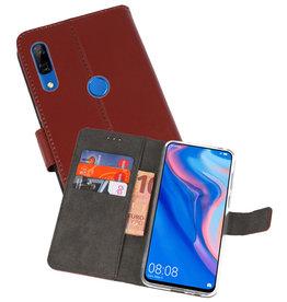 Wallet Cases Hoesje Huawei P Smart Z Bruin