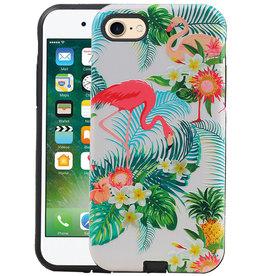 Flamingo Design Hardcase Backcover iPhone 8 / 7