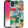 Flamingo Design Hardcase Backcover iPhone X / XS