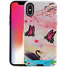 Vlinder Design Hardcase Backcover iPhone X / XS