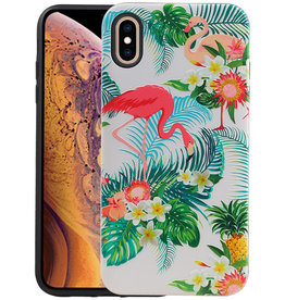 Flamingo Design Hardcase Backcover iPhone XS Max