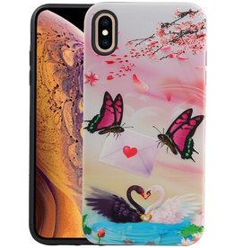 Vlinder Design Hardcase Backcover iPhone XS Max