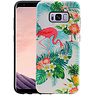 Flamingo Design Hardcase Backcover Samsung Galaxy S8