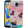 Vlinder Design Hardcase Backcover Samsung Galaxy J6 Plus