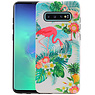 Flamingo Design Hardcase Backcover Samsung Galaxy S10 Plus
