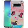 Vlinder Design Hardcase Backcover Samsung Galaxy S10 Plus