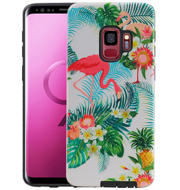 Flamingo Design Hardcase Backcover Samsung Galaxy S9