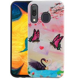 Vlinder Design Hardcase Backcover Samsung Galaxy A30
