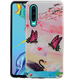 Vlinder Design Hardcase Backcover Huawei P30