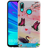 Vlinder Design Hardcase Backcover Huawei P Smart 2019
