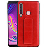 Grip Stand Hardcase Backcover Samsung Galaxy A9 (2018) Rood