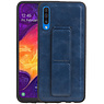 Grip Stand Hardcase Backcover Samsung Galaxy A50 Blauw