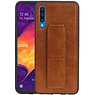 Grip Stand Hardcase Backcover Samsung Galaxy A50 Bruin