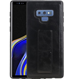 Grip Stand Hardcase Backcover Samsung Galaxy Note 9 Zwart