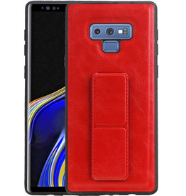 Grip Stand Hardcase Backcover Samsung Galaxy Note 9 Rood
