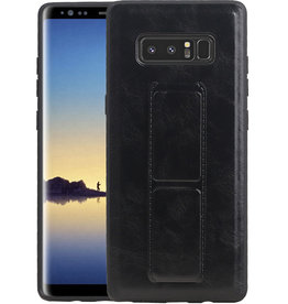 Grip Stand Hardcase Backcover Samsung Galaxy Note 8 Zwart