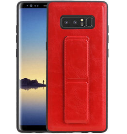 Grip Stand Hardcase Backcover Samsung Galaxy Note 8 Rood