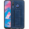 Grip Stand Hardcase Backcover Samsung Galaxy M30 Blauw