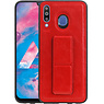 Grip Stand Hardcase Backcover Samsung Galaxy M30 Rood