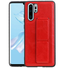 Grip Stand Hardcase Backcover Huawei P30 Pro Rood