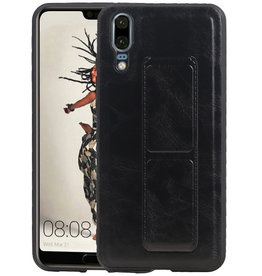 Grip Stand Hardcase Backcover Huawei P20 Zwart