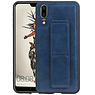 Grip Stand Hardcase Backcover Huawei P20 Blauw