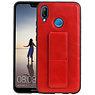 Grip Stand Hardcase Backcover Huawei P20 Lite Rood
