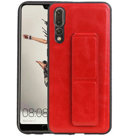 Grip Stand Hardcase Backcover Huawei P20 Pro Rood