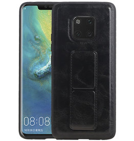 Grip Stand Hardcase Backcover Huawei Mate 20 Pro Zwart