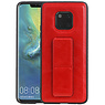 Grip Stand Hardcase Backcover Huawei Mate 20 Pro Rood