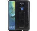Grip Stand Hardcase Backcover voor Huawei Mate 20 X Zwart